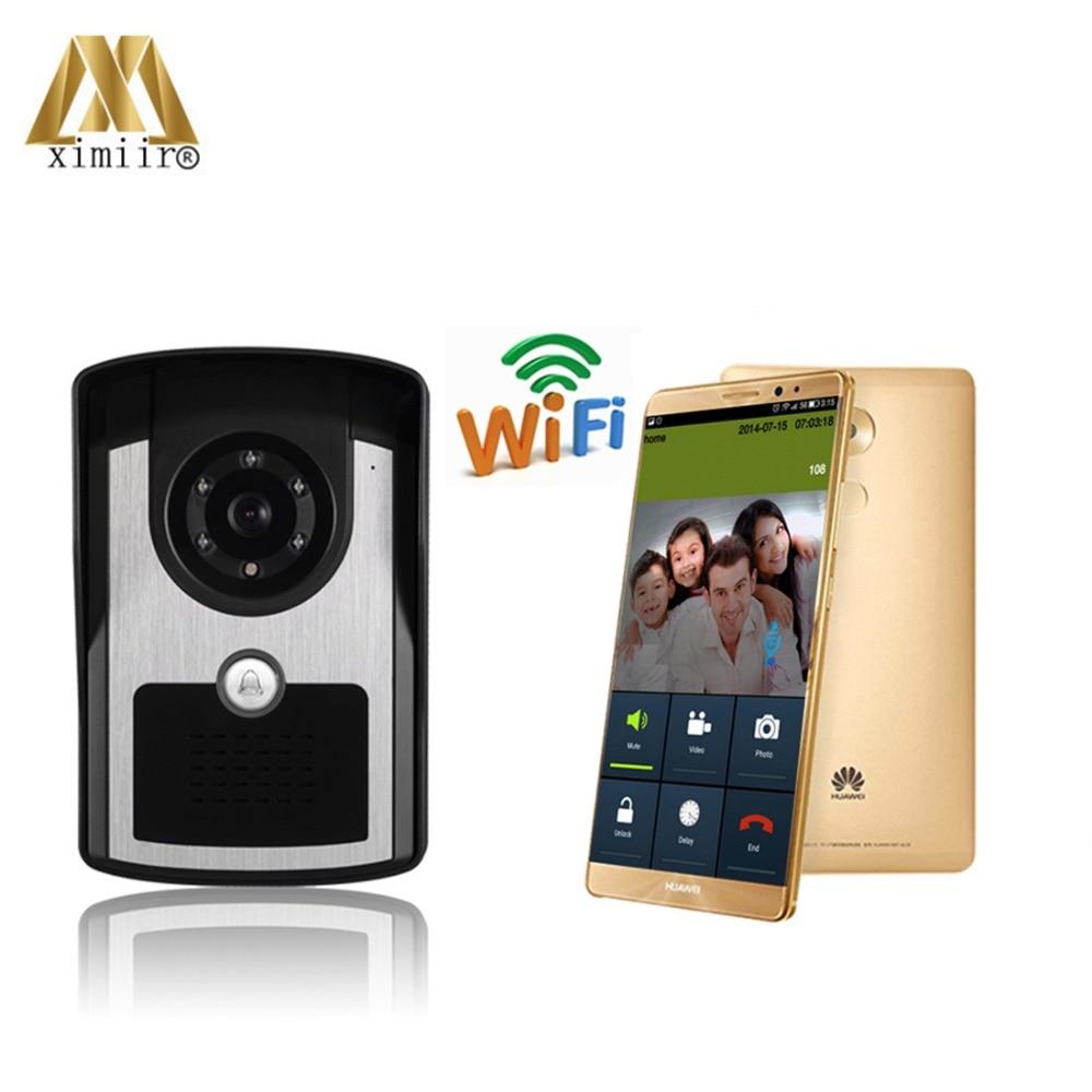 Стабильный пульт дистанционного управления Wi Fi, высокое разрешение, беспроводной дверной звонок, Интернет видео телефон с бесплатным прило