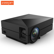 New GM60 LED Projector Portable 1000LM 800 x 480 Multimedia Projectors Support USB VGA HDMI AV