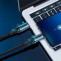 Baseus USB tipo C a tipo C Cable 5Gbps velocidad de transmisión de datos QC3.0 Cable De Carga Rápida Gen2 soporte de pantalla de proyección
