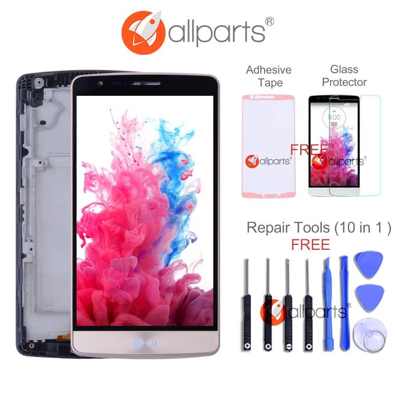 100% Testé 5.0 1280x720 D'ORIGINE pour LG G3 Mini LCD Affichage Digitizer Remplacement Assemblée Écran G3S D722 D724 LCD