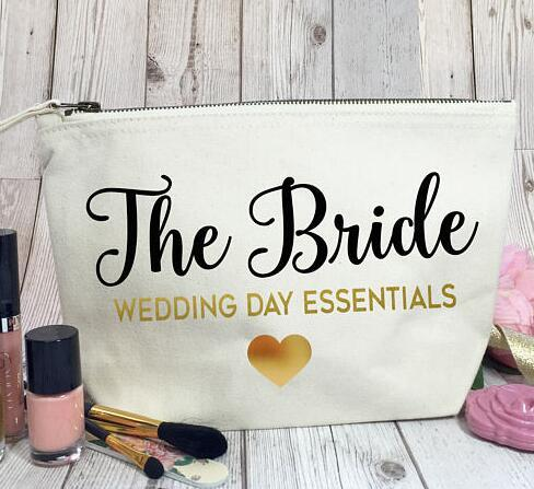 Personalised bride Bridesmaid Gift Make Up Bags Will you be my Bridesmaid, Maid of Honour Unique Gift for Bridal Party Bags, -in Party DIY Decorations from ...