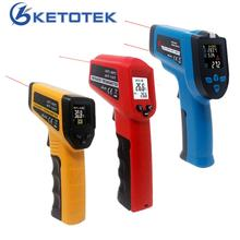 Non Contact Digital Infrared Thermometer IR Laser Point Pyrometer Temperature Meter C/F Selection  50C~380C  50C~550C