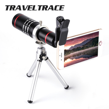 18x Metal Zoom Optical Telescope Telephoto Lens with Tripod Clip Kit Universal Phone Camera for iPhone Mobile Phones