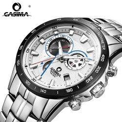 CASIMA Multi-Functional Business Men Watch Chronograph 10Bar Waterproof Sport Watch Men Fashion Watches relogio masculino