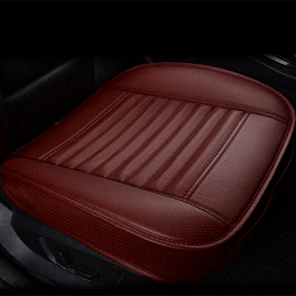 Dewtreetali Car Seat Cushions Single Seat Cover Cushion Anti-slip Car Seat Covers Four Seasons Interior Accessories for VW LADA