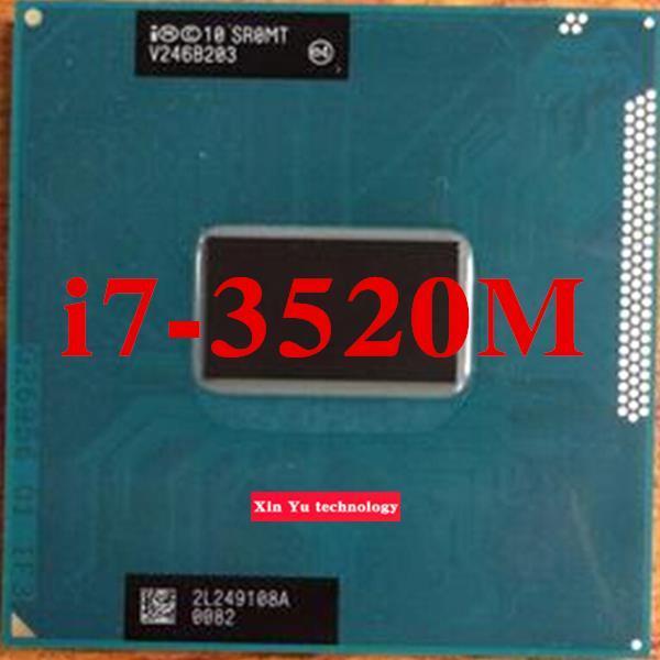 Core i7 3520M 2.9GHz 4M  Dual Core SR0MT 3520 Notebook processors Laptop CPU PGA 988 pin Socket G2