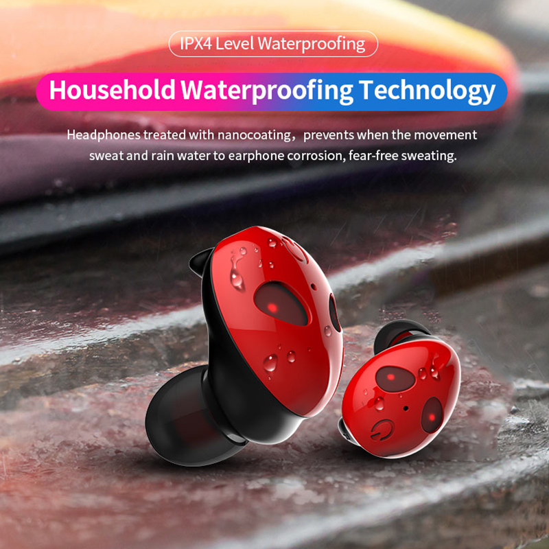 OwnFone 2019 New Wireless Bluetooth Headset Tws Noise Reduction Bluetooth 5 0 In ear Hifi Headset