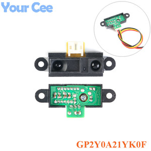 Инфракрасный датчик приближения GP2Y0A21YK0F, ИК-аналоговый датчик расстояния 10-80 см с кабелем
