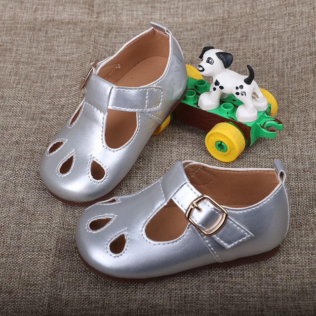 bfdc24b689a39 2018 Summer Sandals Girls Shoes Princess Kids Girls Shoes Fashion Children  Sandals Breathable Toddler Girl Shoes Size 6 7 8 9 11