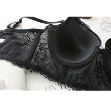 Sexy Lace Bra Bralette Push Up Bras for Women Soutient Gorge Plus Size 30-46 D DD DDD E F