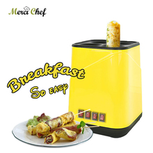 4 Holes Multifunction Fried Egg Breakfast Roll Sausage Machine Cup Remove Plug Not Sticky Pot Food Processors