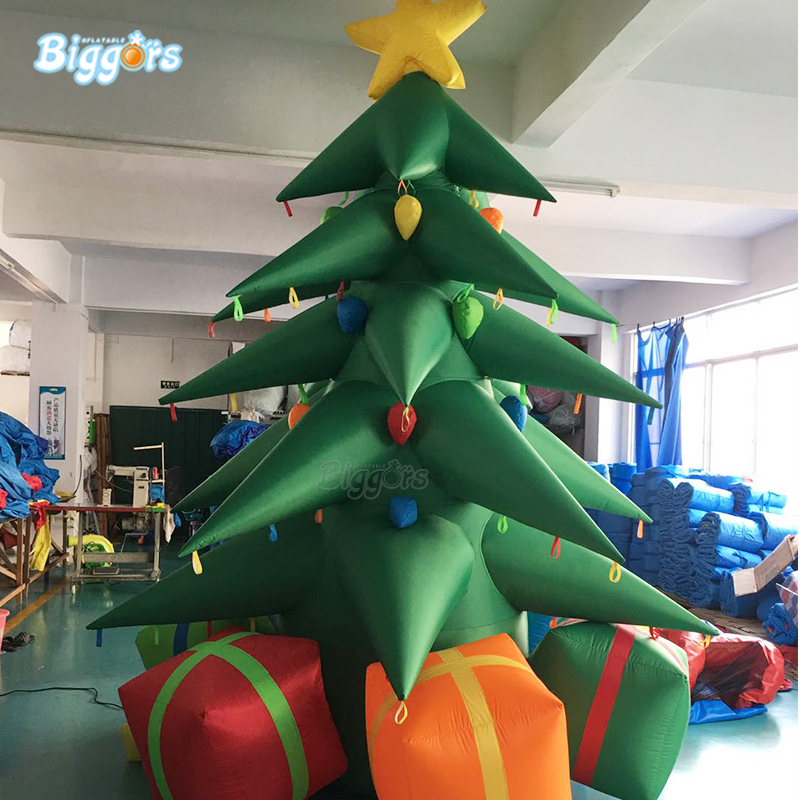 Hot Selling Inflatable Advertising Christmas Decoration Inflatable Christmas Tree For Sale beauty inflatable lighting tree
