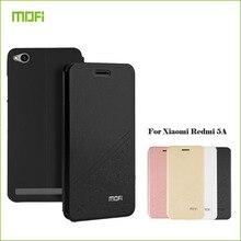 MOFi для Xiaomi Redmi 5A телефон случаях силиконовые телефонной книги чехол для редми 5A Флип Кожа PU Стенд чехол книжка стиль крышка