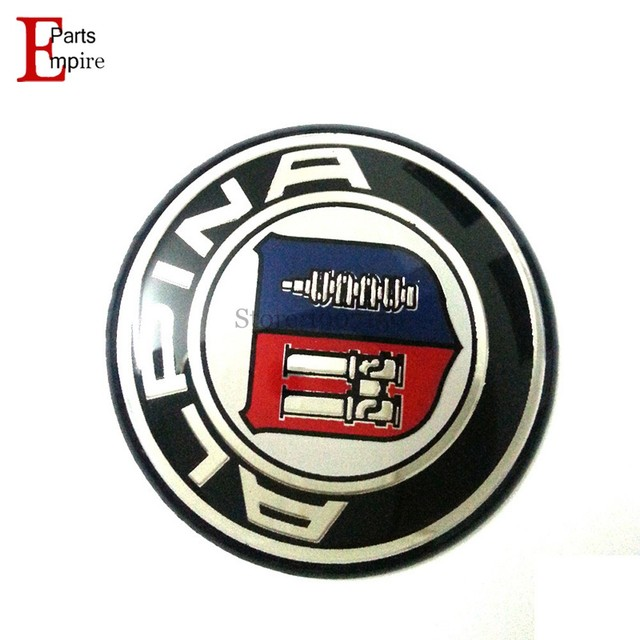 New Car Accessories Pcslot Mm For BMW ALPINA Logo Car Steering - Bmw alpina accessories