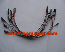 10pcs 500mm servo extension line/wire cable for rc helicopter ESC RC Battery  FreeTrack Shipping