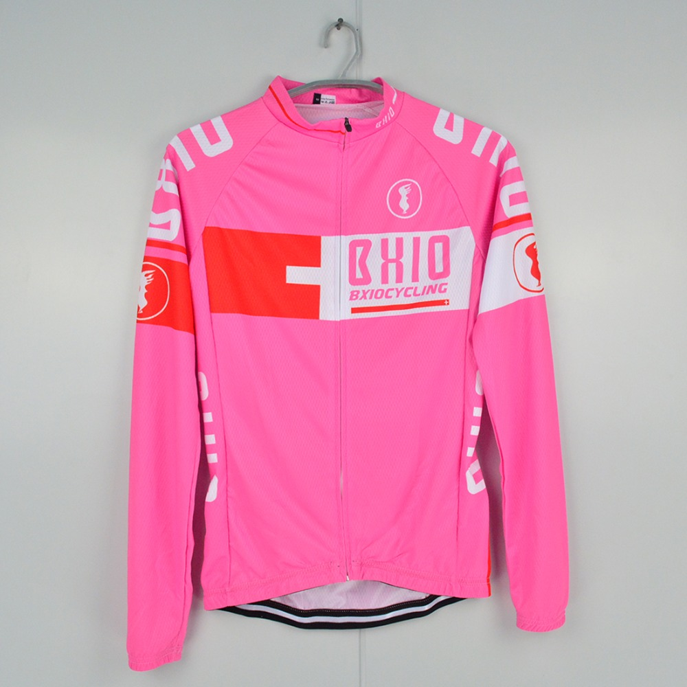 BXIO Winter Cycling Jersey Invierno Ropa Ciclismo Mujer MTB Bike Jerseys  Multi Color Brand Bicycle Clothes Long Sleeves 025 J-in Cycling Jerseys  from Sports ... eec9a26d0