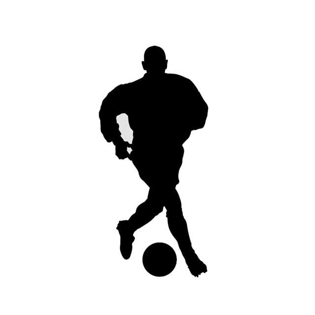 7.9*15.8 CM Olahraga Sepak Bola Kartun Stiker Mobil