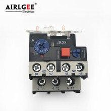 JR28-25 3 polak ochrona silnika termiczny przekaźnik przeciążeniowy 0.63-1A 1-1.6A 1.6-2.5A 5.5-8A 7-10A 9-13A 12-16A 17-25A dla CJX2-9-32