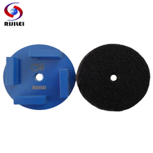 RIJILEI 12 PCS/Set Diamond grinding disk Grinding Wheel for Concrete Floor Polishing Marble shoes V30B