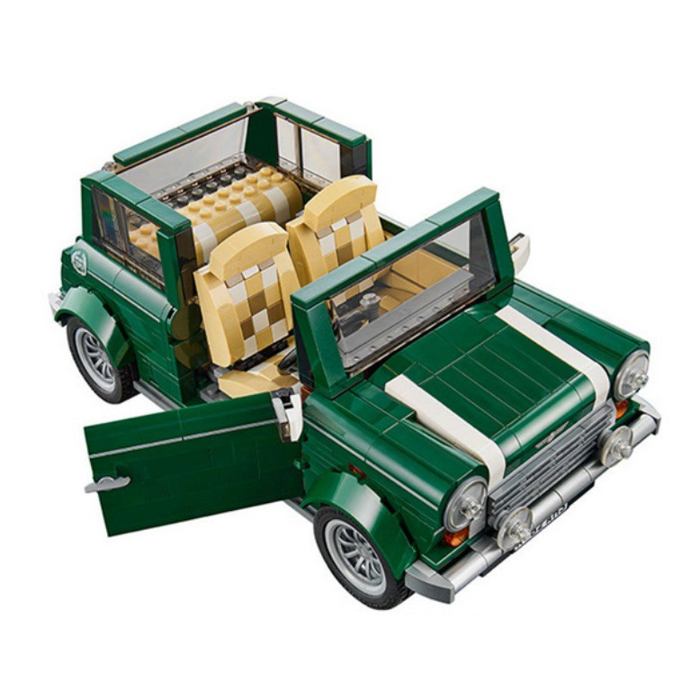 New 21002 Ideas series the MINI Cooper model Building Blocks set Classic Compatible 10242 Technic car toy for children free shipping lepin 21002 technic series mini cooper model building kits blocks bricks toys compatible with10242