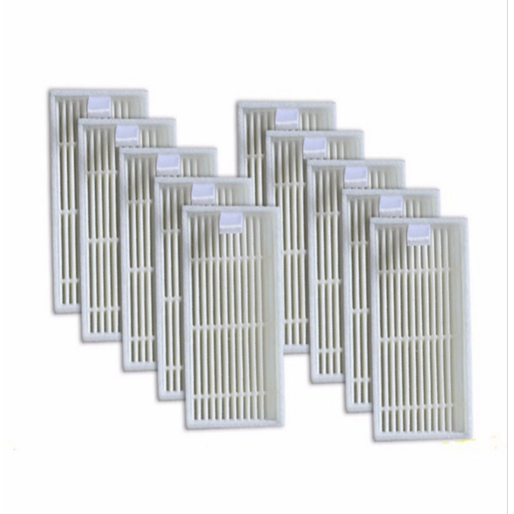 10 pieces HEPA Filter for CHUWI V3 iLife V5 V3+ V5PRO Robot Vacuum Cleaner Robotic Vacuum Cleaner for Home
