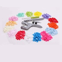 Four Button Tool Resin 15 Color Sets 10 Of Buttons Per Color Kam Snaps Garment Accessories