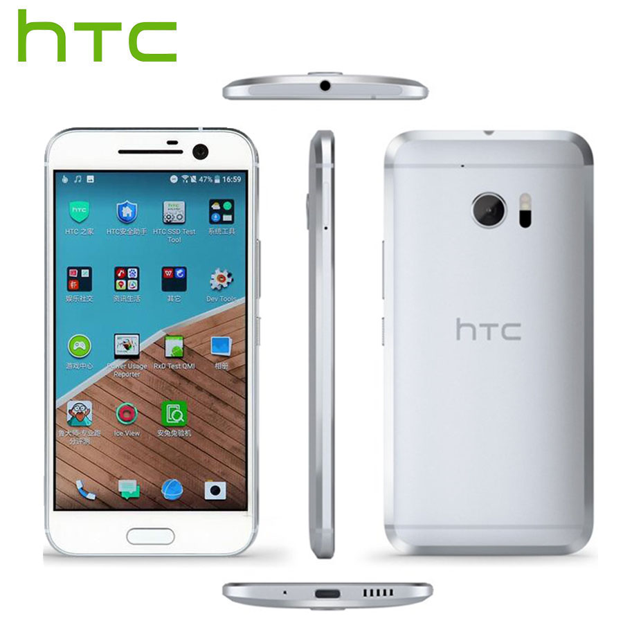 HTC Android Smartphone HTC 10 Lifestyle LTE 4G téléphone portable 5.2 pouces 3 GB RAM 64 GB ROM Snapdragon 652 Octa Core 12MP Callphone NFC