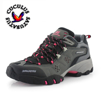 Women Men Hiking Shoes Waterproof Climbing Mountain Boots Breathable Shoes Brand 7ColorsWinter HuntingBoots