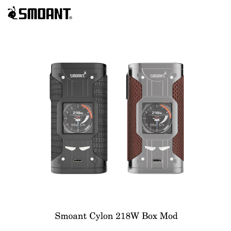 Electronic Cigarette 218W 100 Original Smoant Cylon Box Mod Cloupor Vaporizer 18650 Battery Color Screen VW