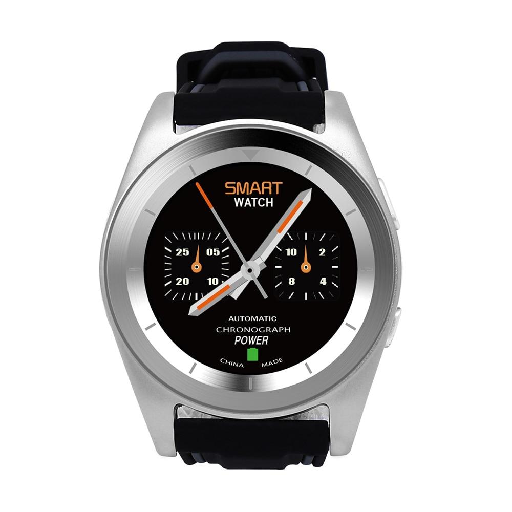 meilleur site web 17676 2472e € 29.82 20% de réduction|NO 1 G6 Bluetooth Smartwatch Ronde Montre Smart  Watch MTK2502 Fréquence Cardiaque Podomètre PSG Mode Intelligent Montre ...