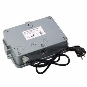 Image 5 - 11 stacji ogród automatyczne nawadnianie kontroler czasowy wyłącznik przepływu wody system nawadniania z standard ue transformator wewnętrzny #10469