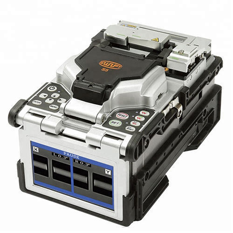 Original <font><b>Ilsintech</b></font> Swift S5 all-in-one core alignment Swift S5 fusion splicer FTTH Fusion Splicer Welding Machine English menu image