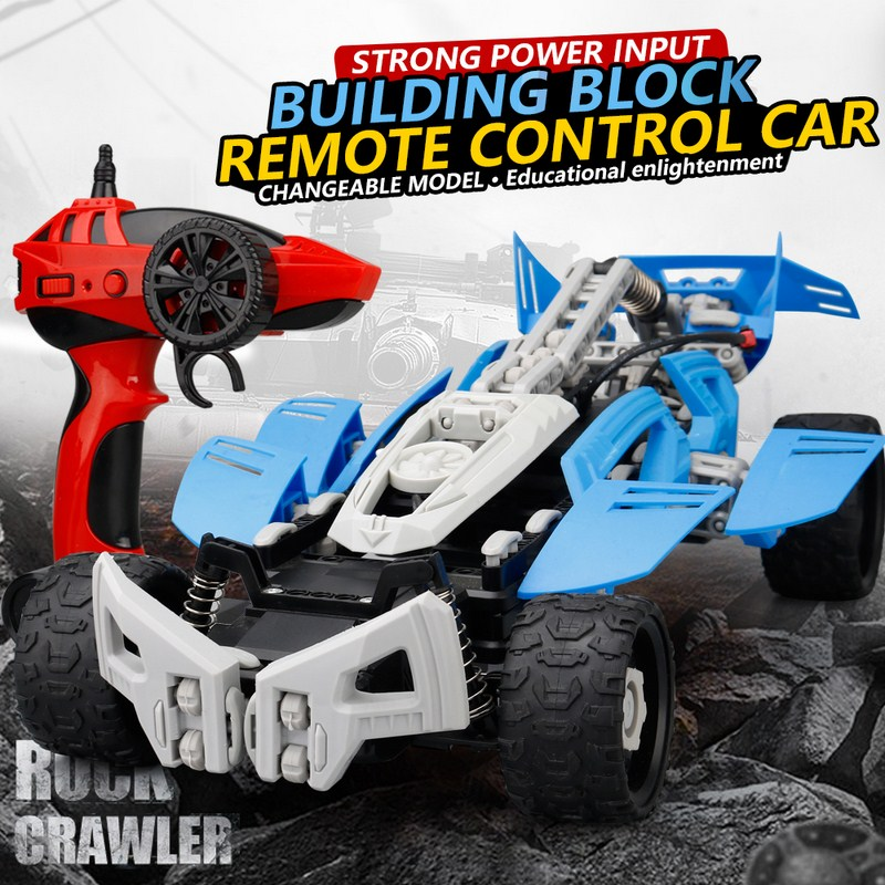 163Pcs RC Cars 2.4G 4CH 20KM/H Remote Control High Speed Electric RC Toys Off Road Truck 1:16 RC Cars Toys Children Gifts