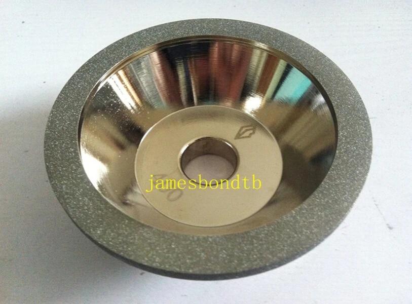 1pc 125x10mm Diamond Grinding Wheel Grit 400 Cutter Tool Grinder