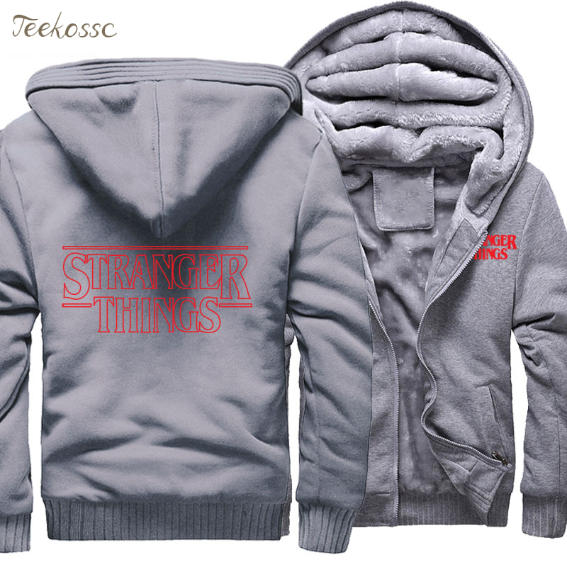 Hipster Letter Print Streetwear Men 2018 Winter Warm Fleece Sweatshirt Thick Zipper Hoodies Male Sportswear Plus Size Hoodie 5XL in Hoodies amp Sweatshirts from Men 39 s Clothing