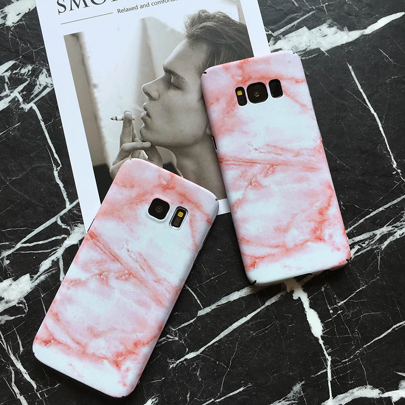 MOUSEMI For Samsung Galaxy S8 S7 Edge Case Luxury Marble Protective Phone Cases For Samsung Galaxy S8 Plus S7 Note 8 Case Cover