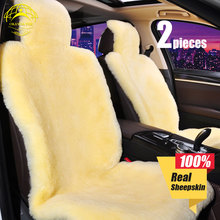 OKAYDA car seat cover Universal Full fur Sheepskin 100% New Arrival Protection your warm in winter free shipping