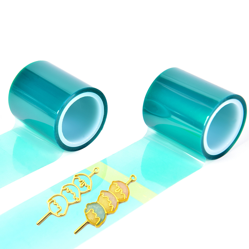 1 Roll Non Residual Adhesive Tape For Hollow Metal Frame UV Resin Pendant Open Bezel Setting Helper DIY Tool