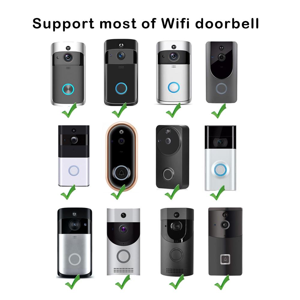Image 5 - Rain Cover Universal Type Wifi Doorbell Camera Waterproof Cover for Smart IP Video Intercom WI FI Video Door Phone Door Bell cam-in Doorbell from Security & Protection