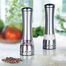 Нержавеющей стали руководство соль и перец мельница шлифовальный станок для приготовления пищи кухня 1 шт