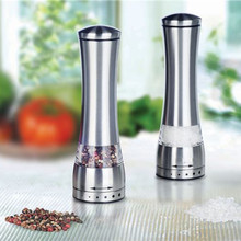 Stainless Steel Manual Salt and Pepper Mill Grinder for cooking kitchen ,Manual Pepper Mill 1pcs