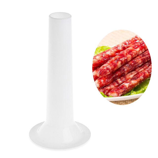 US $0 41 23% OFF|Aliexpress com : Buy Household Sausage Making Funnel  Stuffer Filler Sausage Casing Maker Tube Manual Meat for Homeuse Sausage  Casing