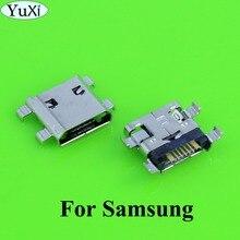 YuXi 10pcs For Samsung Galaxy S3 Mini i8190 Micro Usb jack Charger Charging socket Connector Plug Dock Port 7 pin replacement стоимость
