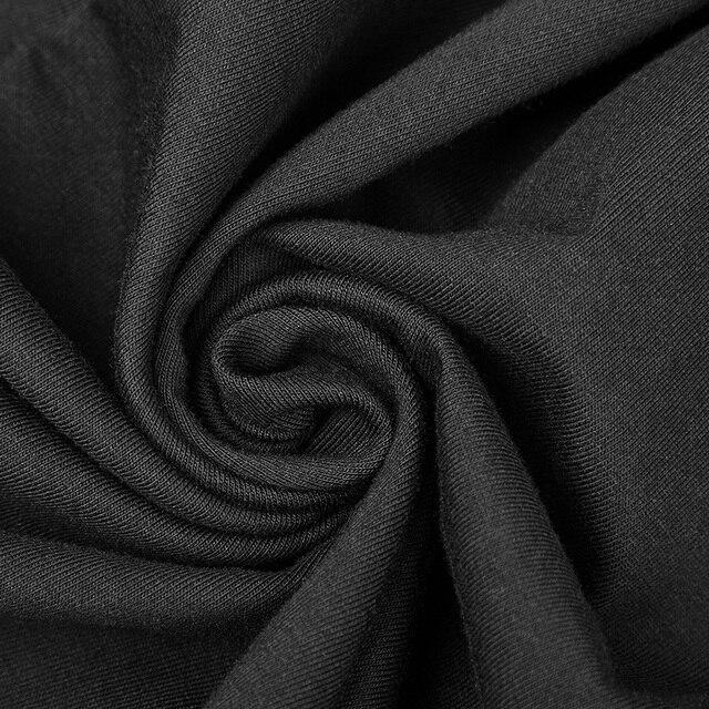 Fashion Irregular Hem Dress Gothic Proper Segmentation Showing Proportion Of Stature Hollow Shoulder Dress PUNK RAVE OPQ-316LQF 5