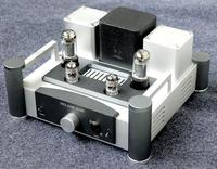 E400 Tube amplifier pre amp tube 12AX7 6P6 or 6v6 RCA input RCA ,6.3mm output for HD800
