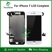 5 шт. белый и черный для Apple iPhone 7 Plus ЖК-дисплей для iPhone 7 завершенный запасной экран без битых пикселей дисплей с сенсорным дигитайзером в сборе