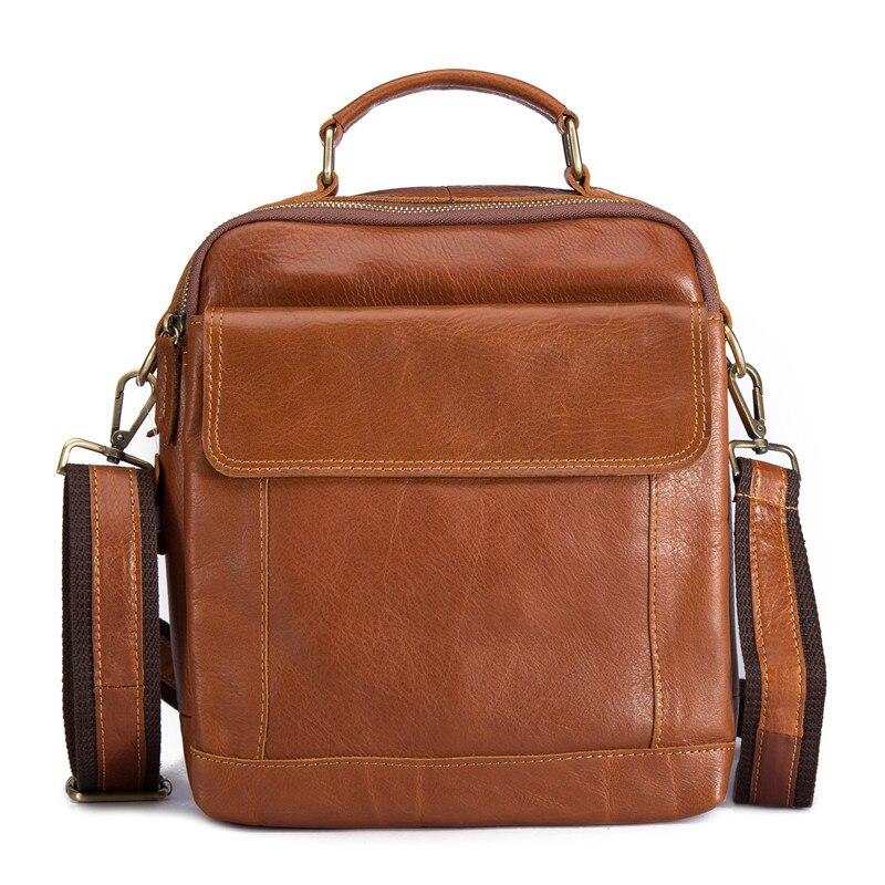 Neweekend Echt Leder Männer Beutel der Schulter Messenger Casual Umhängetasche Tasche Vintage Mini Business Aktentasche Männlichen Kleine Handtasche Tote