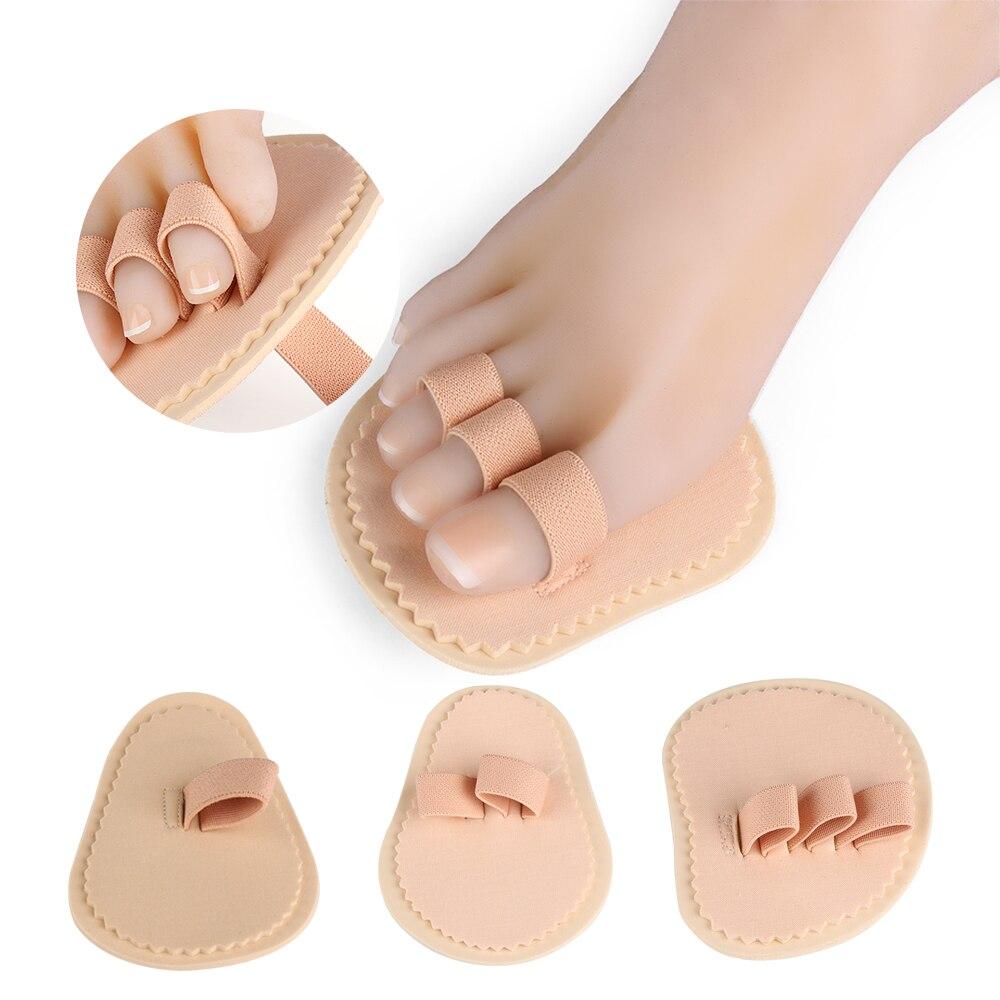 Fußpflege-utensil 1 Paar 2 Farben Toe Separator Hallux Valgus Zehen Überlappenden Trennung Zehen Rehabilitation Korrektur Orthesen Yoga Bedarfs Schönheit & Gesundheit