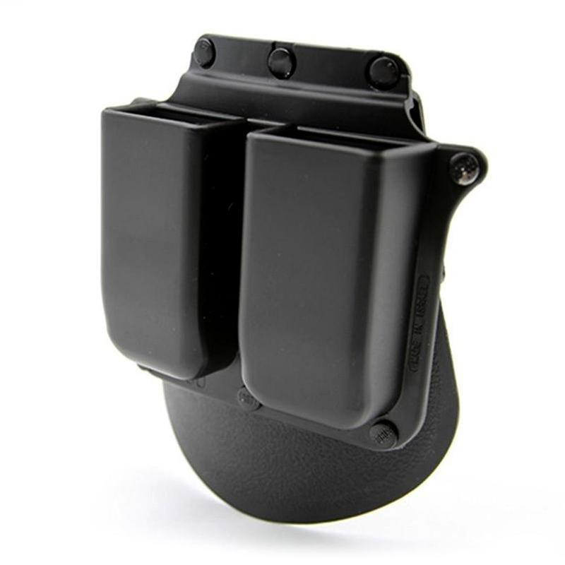 Holster 6900P Paddle Style Double Magazine Pouch For 9mm .40 Cal Mags