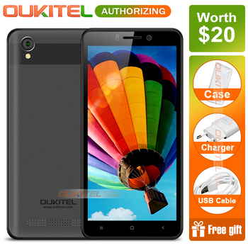 OUKITEL C10 5.0 inch Android 8.1 1GB RAM 8GB ROM MTK6580 Quad Core 1.3GHz 3G Smartphone 18:9 Display 2000mAh Mobile Phone